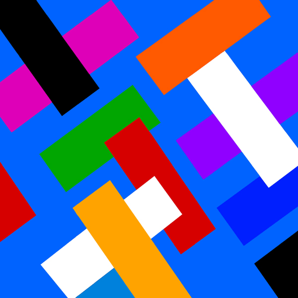 Diagonal Rectangles, 1985